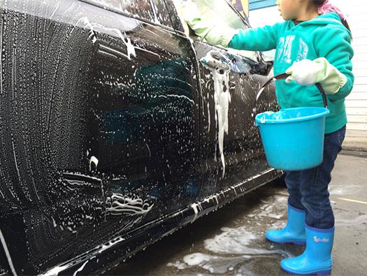 寒い日はラクラク洗車。コイン洗車場活用のススメ。