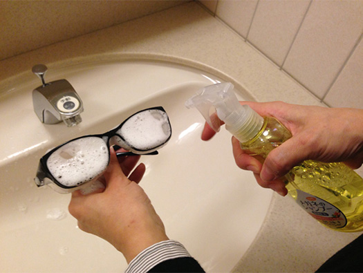 メガネの花粉もすっきり!『メガネのシャンプー 除菌EX』