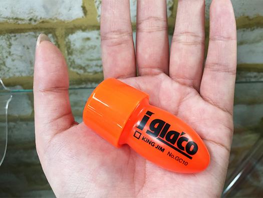 キングジム社様と夢のコラボ!スマホ用タッチパネルコーティング剤『iガラコ』