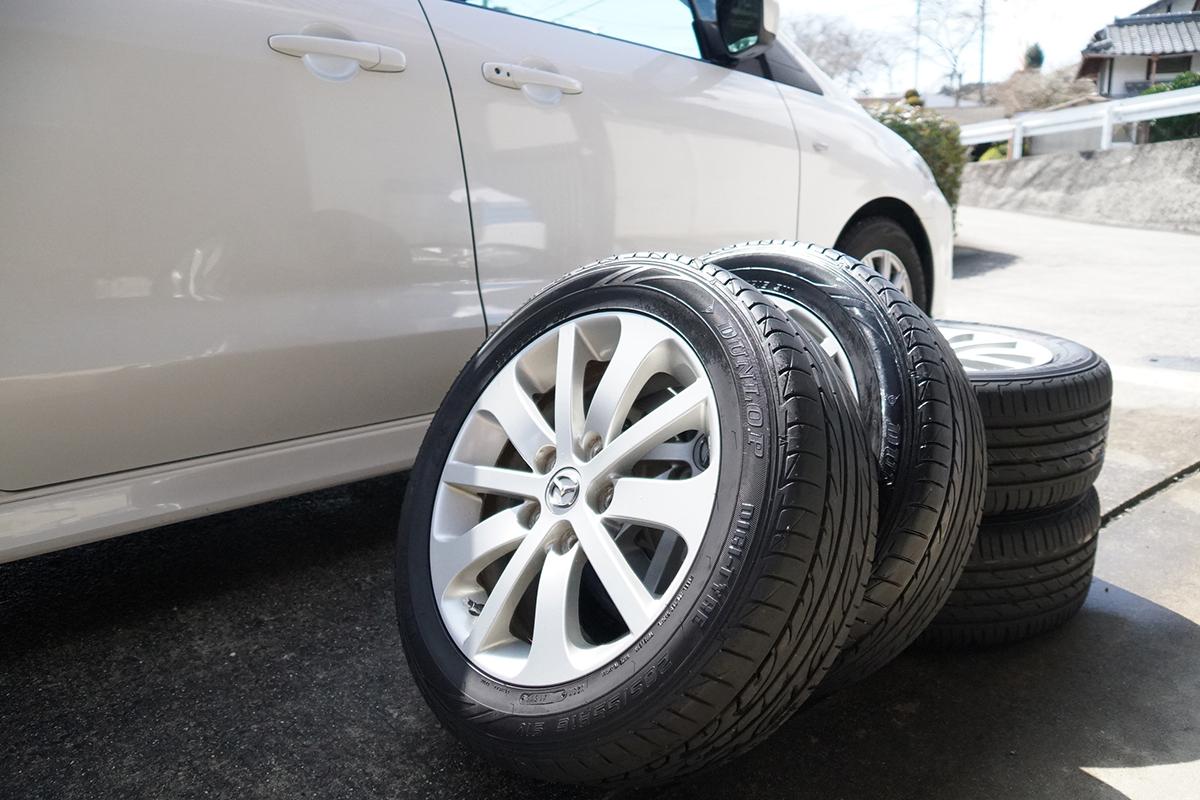 保管 方法 タイヤ スタッドレス