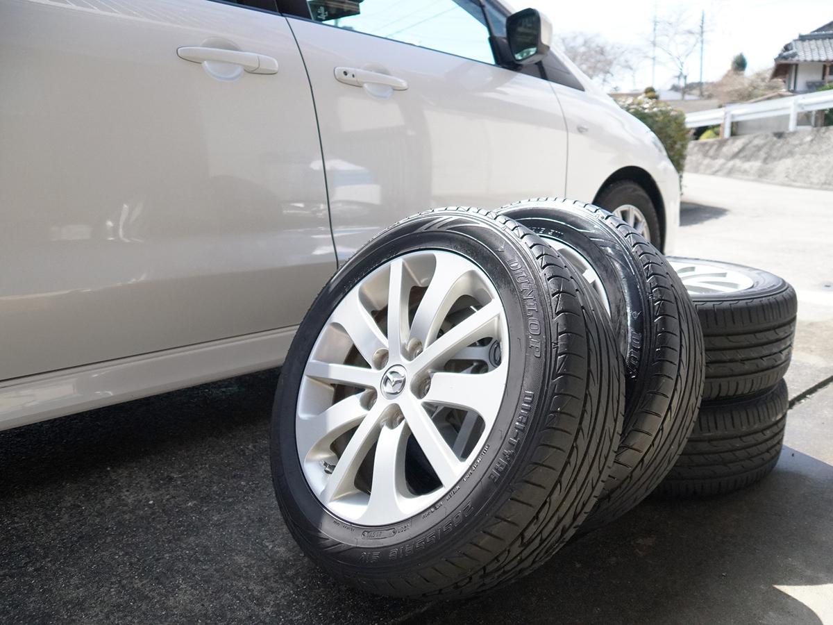 スタッドレスからノーマルへタイヤ交換「タイヤの正しいお手入れと保管方法」