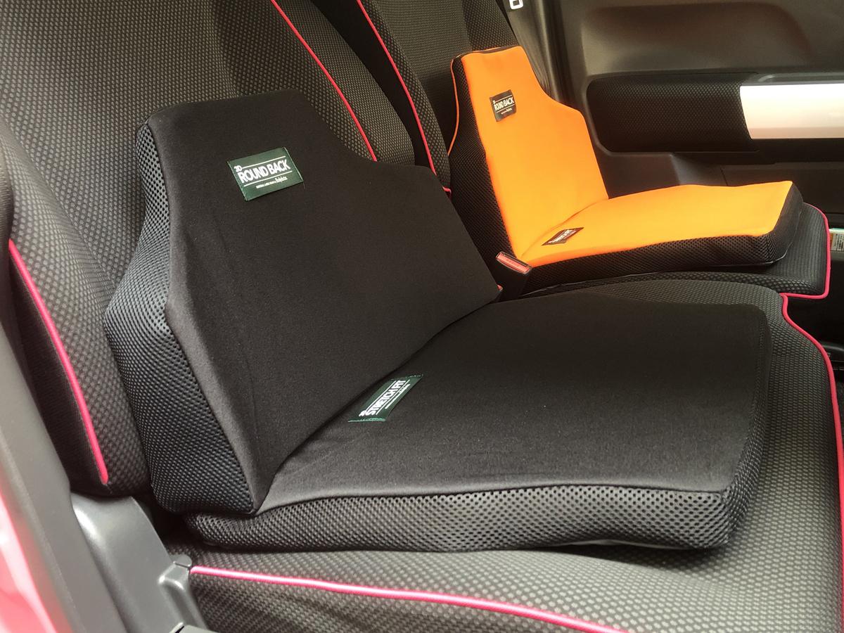 腰やお尻が疲れる!長距離ドライブに役立つドライブサポートクッション試してみました