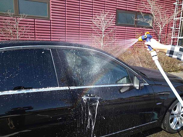 【洗車専用のすごいやつ、散水ノズル『Gジェッター』】をアップしました。
