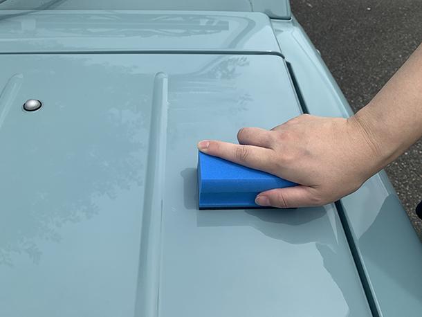 99工房「レトロカー再生への道」【塗装を磨いてキレイにする】をアップしました