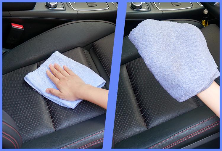 あとは固く絞った濡れタオルでサッと拭くだけ!