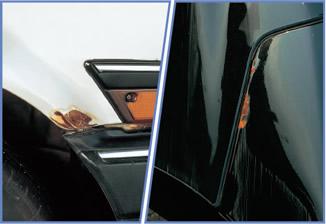 防錆技術が進歩しても、むき出しの鉄はスグにサビるよ。
